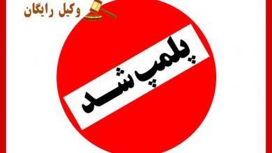 تصویر محو یا شکستن مهر و پلمپ و سرقت نوشتهها از اماکن دولتی